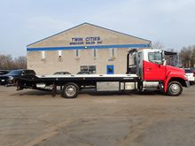 2013 HINO 258 ROLLBACK TOW TRUC