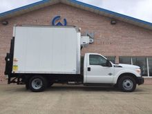 2011 FORD F350 REFRIGERATED TRU