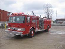 1981 PIERCE ARROW FIRE TRUCK