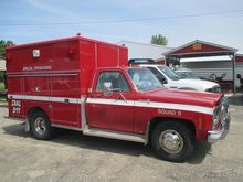 1979 CHEVROLET C30 AMBULANCE