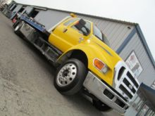 2012 FORD F750 WRECKER TOW TRUC