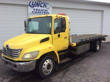 2007 HINO 268 ROLLBACK TOW TRUC