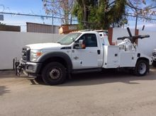 2011 FORD F550 XL WRECKER TOW T