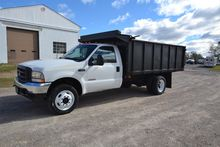 2003 FORD F550 XL SD DUMP TRUCK