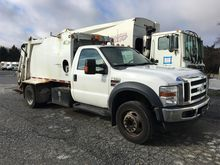 2010 FORD F550 GARBAGE TRUCK