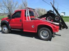 2011 FORD F450 SD WRECKER TOW T