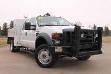 2009 FORD F550 XL SD CRANE TRUC