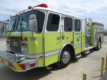 2003 E-ONE CYCLONE FIRE TRUCK