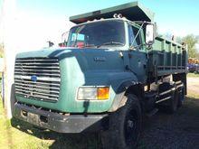 1996 FORD LTS8000 DUMP TRUCK