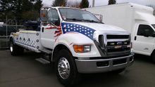 2008 FORD F750 WRECKER TOW TRUC