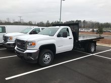 2017 GMC SIERRA 3500 HD FLATBED