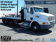 2007 STERLING A9500 26' FLATBED