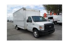 2012 FORD BOX BOX TRUCK - STRAI