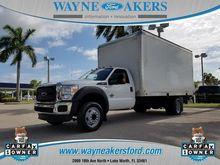 2015 FORD F550 Box truck - stra