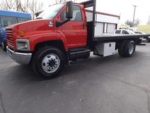 2008 GMC C7500 CAB CHASSIS