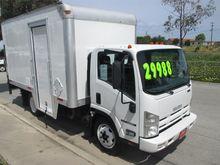 2012 ISUZU NQR Box truck - stra
