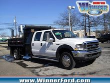 2004 FORD F550 CONTRACTOR TRUCK