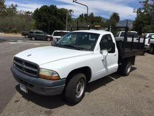 2001 DODGE DAKOTA FLATBED DUMP