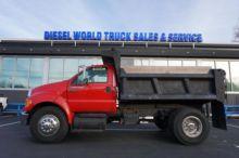 2008 Ford F-750 Dump truck