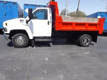 2007 GMC C4500 CAB CHASSIS