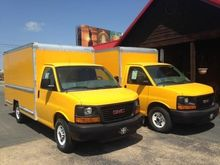 2013 GMC SAVANA G3500 BOX TRUCK
