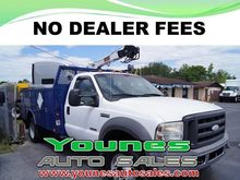 2005 FORD F-550 CONTRACTOR TRUC