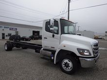 2017 HINO 258LP CAB CHASSIS