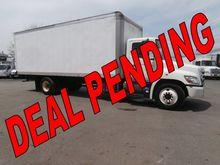2011 Hino 268 Box truck - strai