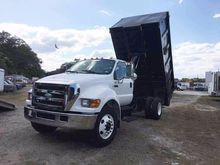 2007 FORD F750 CAB CHASSIS