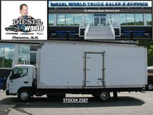 2013 Mitsubishi Fuso Box truck