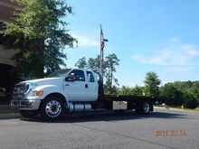 2015 FORD F650 CAR CARRIER