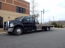 2017 FORD F650 CAR CARRIER