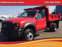 2006 FORD F-550 CAB CHASSIS