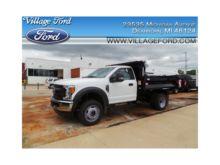2017 FORD F450 Dump truck