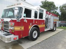 2004 PIERCE SABRE FIRE TRUCK
