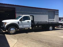 2017 FORD F550 FLATBED TRUCK