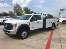 2017 FORD F450 Crane truck