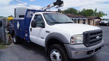 2005 FORD F550 Contractor truck