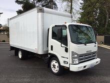 2010 ISUZU NQR Box truck - stra