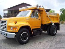 1997 FORD F750 Dump truck
