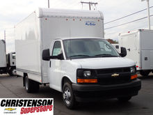 2017 CHEVROLET EXPRESS Box truc