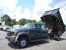 2007 FORD F550 Flatbed dump