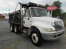 2007 INTERNATIONAL 4400 DUMP TR