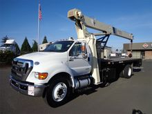 2015 FORD F750 Crane truck