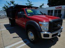 2011 FORD F450 Dump truck