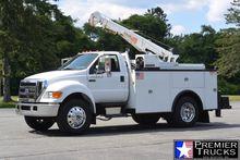 2006 FORD F750 Crane truck