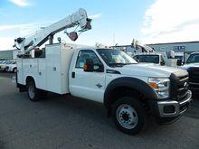 2016 FORD F550 Crane truck