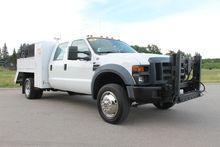 2008 FORD F550 Crane truck