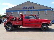 2001 DODGE 3500SLT WRECKER TOW