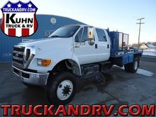 2012 FORD F750 FLATBED TRUCK